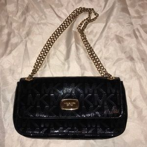 Gorgeous Black and Gold Michael Kors Purse